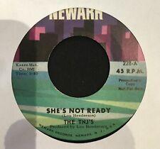 Sweet Soul Northern 45 THE TNJ'S she's not ready NEWARK listen
