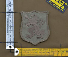 """Ricamata / Embroidered Patch Devgru """"Lion"""" Coyote Tan with VELCRO® brand hook"""
