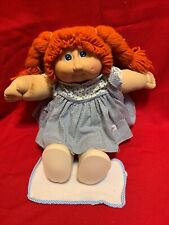 1982 CABBAGE PATCH KIDS Doll Red Hair Blue Eyes adorable