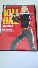 "DVD ""KILL BILL 2"" QUENTIN TARANTINO UMA THURMAN DAVID CARRADINE"