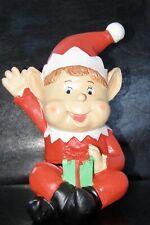 """Jumbo Elf Money Box Boxed Elves Behavin Badly Series 10"""" High"""