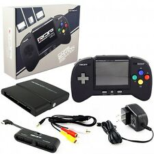 Retro Bit RDP plays Nintendo NES SNES & GENESIS games Portable Handheld Console