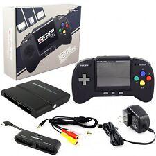 Retro Bit RDP plays Nintendo NES SNES & GENESIS games Portable Handheld Console