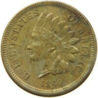 UNITED STATES CENT 1860 INDIAN HEAD #t132 485