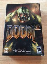 DOOM 3 (PC,2004)Windows 2000 XP GAMES COMPLETE 3 Discs, NIB