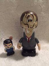 Disney Vinylmation Under The Big Top Circus Chaser & Jr Tall Man Small Man