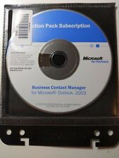 Microsoft Business Contact Manager for Outlook 2003 with product key