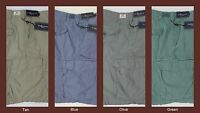 NWT $89 Polo Ralph Lauren Drill Khaki Cargo Shorts Classic Fit Mens NEW BIG