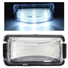 12V 24V White 8-LED Side Marker Light Tail Clearance Signal Lamp Trailer Truck