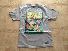 John Cena WWE AUTHENTIC Throwback Grey T-shirt XL Brand New