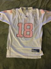 Girls XL NFL Peyton Manning Indianapolis Colts Jersey