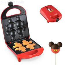 Mickey Mouse Cake Pop Maker Kids Mini Cupcake Making Cooking Dessert Cooker Red