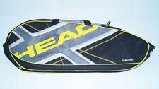 *NEU*Head Elite Pro Tennistasche schwarz silber grau gelb Tasche pro new Tennis