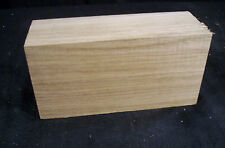 "Kiln Dried Butternut Carving Block 2x3x6"" Craft Lumber Blank"