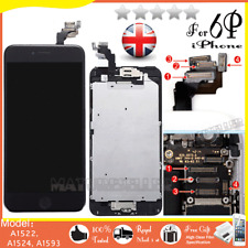 For iPhone 6 Plus Screen Replacement LCD Touch Display Digitizer Button Black