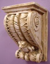 Classical Frog Leafs Rose Bracket Sconce Wall Home Decor