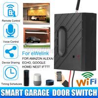 Car Garage Door Opener Smart WiFi Switch Control Support For eWeLink APP Phone