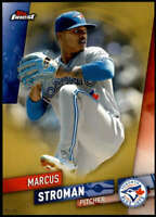 Marcus Stroman 2019 Finest 5x7 Gold #15 /10 Blue Jays