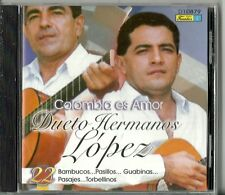 Colombia Es Amor Dueto Hermanos Lopez Latin Music CD New
