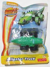 ++ Nickelodeon Blaze And The Monster Machines - Alligator Truck - Mini Diecast