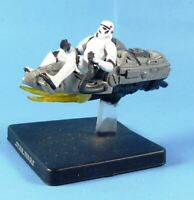 Star Wars Miniatures - Stormtrooper on Repulsor Sled # 4D51