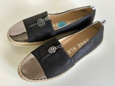 NEW! ANNE KLEIN AK ZETTA BLACK SLIP-ON SHOES SNEAKERS 6 36 SALE