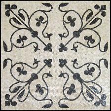Greek Tile Art Motif Stone Floor Inlay Design Home Marble Mosaic GEO1058
