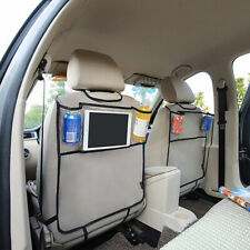 Car Seat Back Protector Cover For Storage Bag Multi-function Children Kick Mat