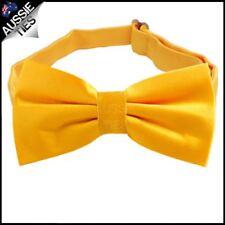 Marigold / Bumblebee Yellow Men's bowtie Mens bow