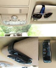 Black in Car Sunglasses Spectacles Glasses Clip Holder to Sunvisor Mount