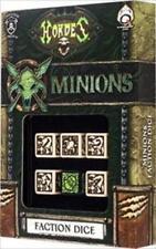 Q-Workshop Hordes Faction 6D Dice Set Minions QWS SPHO53