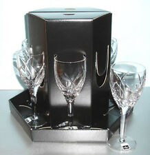 Waterford John Rocha Signature Set/6 White Wine Glasses New In Gift Box