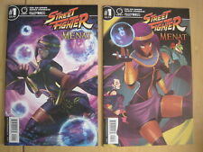 STREET FIGHTER, MENAT  issue 1 : set of 2 : B, Steinback VARIANT + cover A. 2019