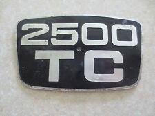 Original Triumph 2500 TC car badge