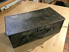 More details for ww1 1917 original dated lewis gun ammo drum box