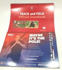 Cramer  N F H S Track And Field Offical Scorebook - Lot of 2! NEW!