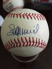 STAN MUSIAL AUTOGRAPHED / SIGNED ONL BASEBALL