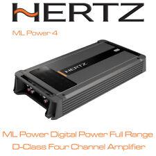Hertz ML Power 4 - 4 Channel Class D Car Amplifier Subwoofer Amp Speaker Amp