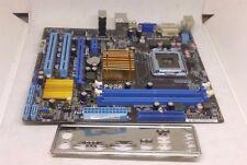 Asus P5G41-M LE REV 1.01G Intel Socket LGA775 Motherboard W/ I/O Shield WORKING