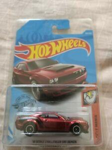 ++STH SALE++ Hot wheels Super Treasure Hunt 18 Dodge Challenger SRT Demon