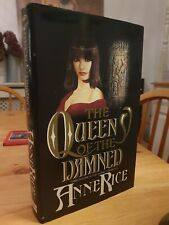 1989 First Edition Anne Rice The Queen Of The Damned