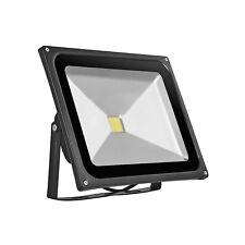 LED Outdoor Flutlicht 50W Scheinwerfer - Außenstrahler IP65 Warm Weiß