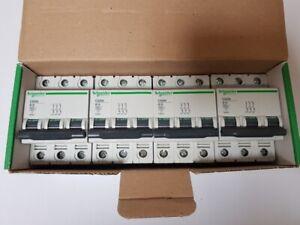 4x Schneider Electric 23652 C60N B16 3P Sicherungsautomat Leitungsschutzschalter
