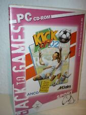 KICK OFF 2002 - Back To The Games (PC CD-ROM)