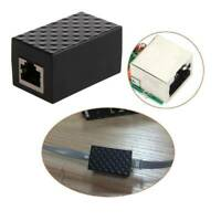 RJ45 Ethernet Adapter Anti-Lightning Device Network Protector Surge Arrester'