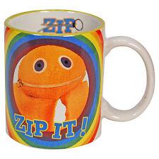 Rainbow Zippy Mug - Retro 80's Kids Show Bungle George Cup Gift Home Office