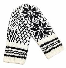 NEW! THE Authentic Selbu Rose 100% Pure Wool Norwegian Mitten from Selbu Husflid