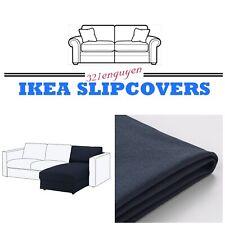 IKEA VIMLE Chaise Cover 003.511.11  Orrsta Black Blue Slipcover NEW