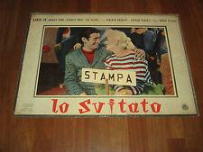 FOTOBUSTA,B1A LO SVITATO,DARIO FO' FRANCA RAME,CARLO LIZZANI 1956