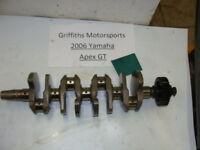 06 2006 07 08 YAMAHA APEX GT mtx rtx ltx 4 cylinder 1000 crank crankshaft NICE